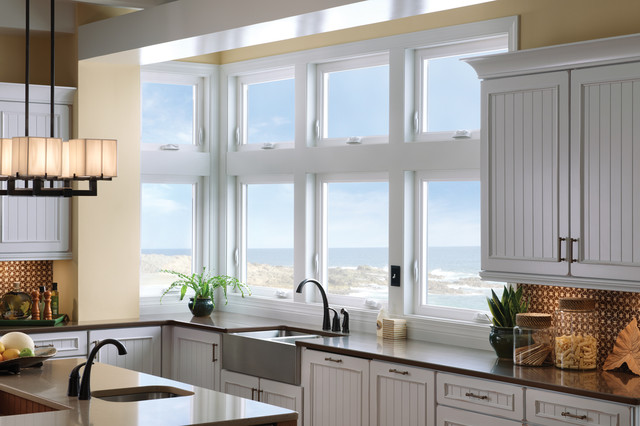 Advance Window Double Hung Windows Overlooking Sea