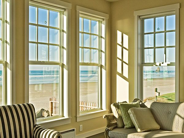 Milgard Sliding Windows Installed In Beach Home