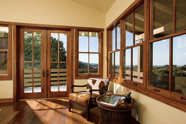 Marvin Windows Used In Outdoor Deck