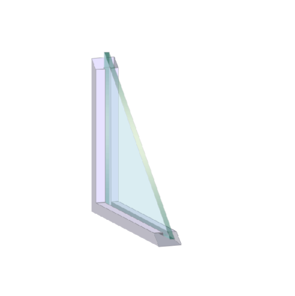 Single Pane Windows example